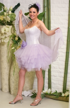 Dress SCARLET color lilac from 800lv. to 400lv.