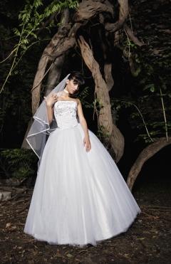 Dress Jasmin white from 1200lv. to 600lv.